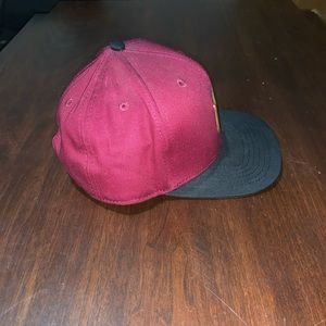 Maroon California Republic Pin Hat